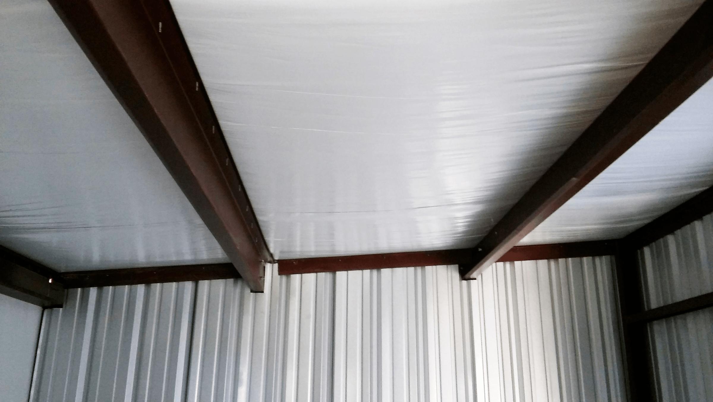 Interior trim detail.