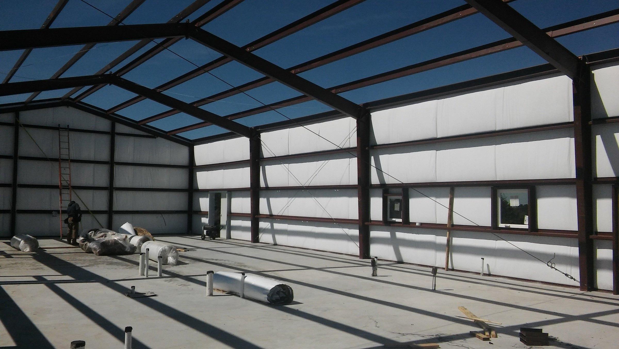Barndominium and Garage insulation.