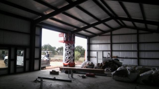 Barndominium and Garage insulation complete.
